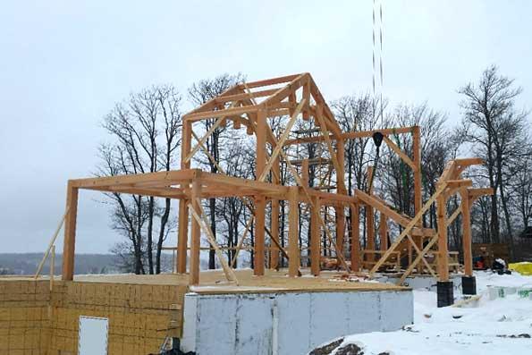 Timber Frame home 17-007