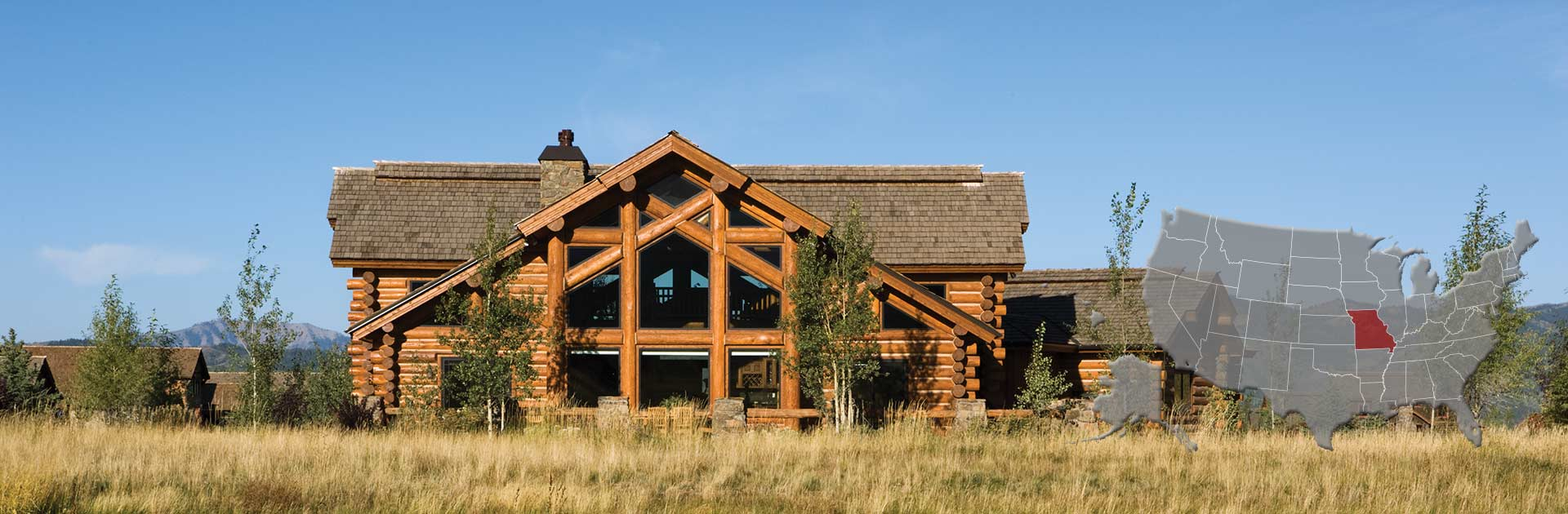 Missouri Log and Timber Frame Homes | by PrecisionCraft
