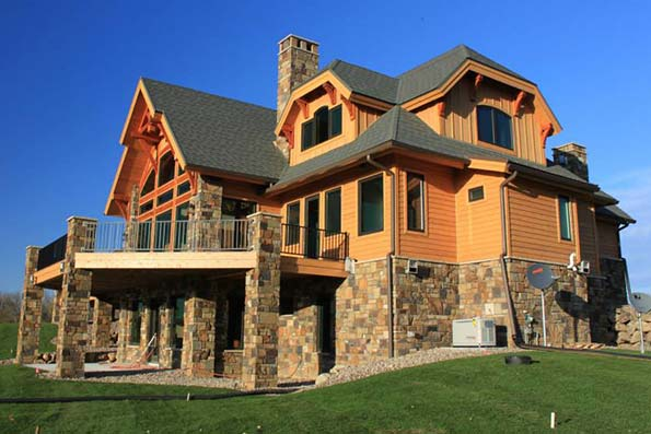 Minnesota Timber Frame Home 11-026