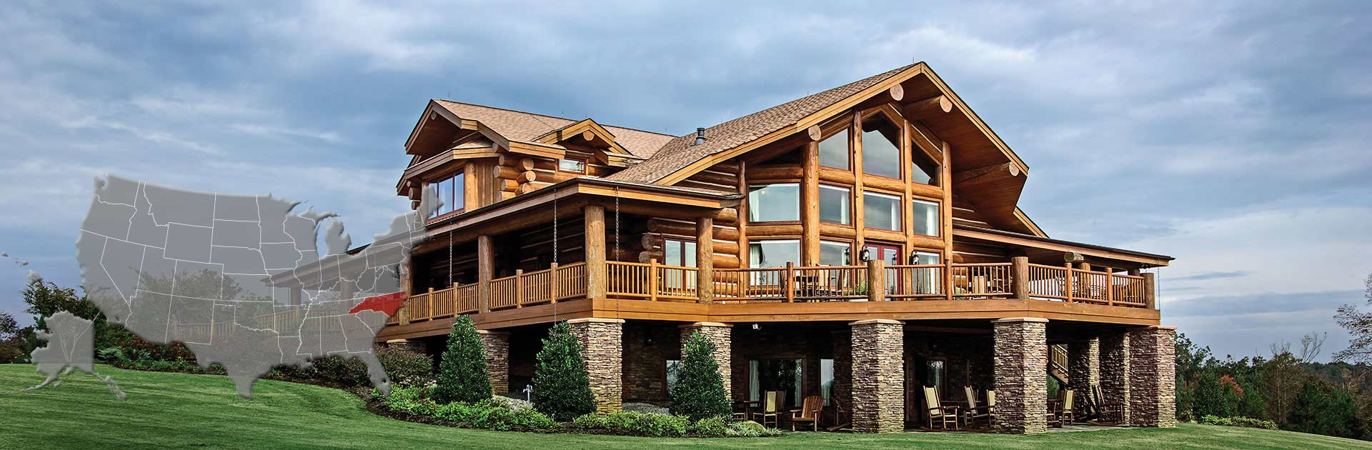 North carolina log and timber frame homes by precisioncraft for House plans nc