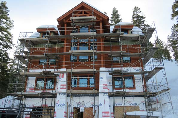 Nevada Timber Frame Home 11-024