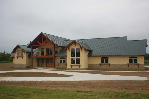 Oklahoma Timber Frame Home 07-019
