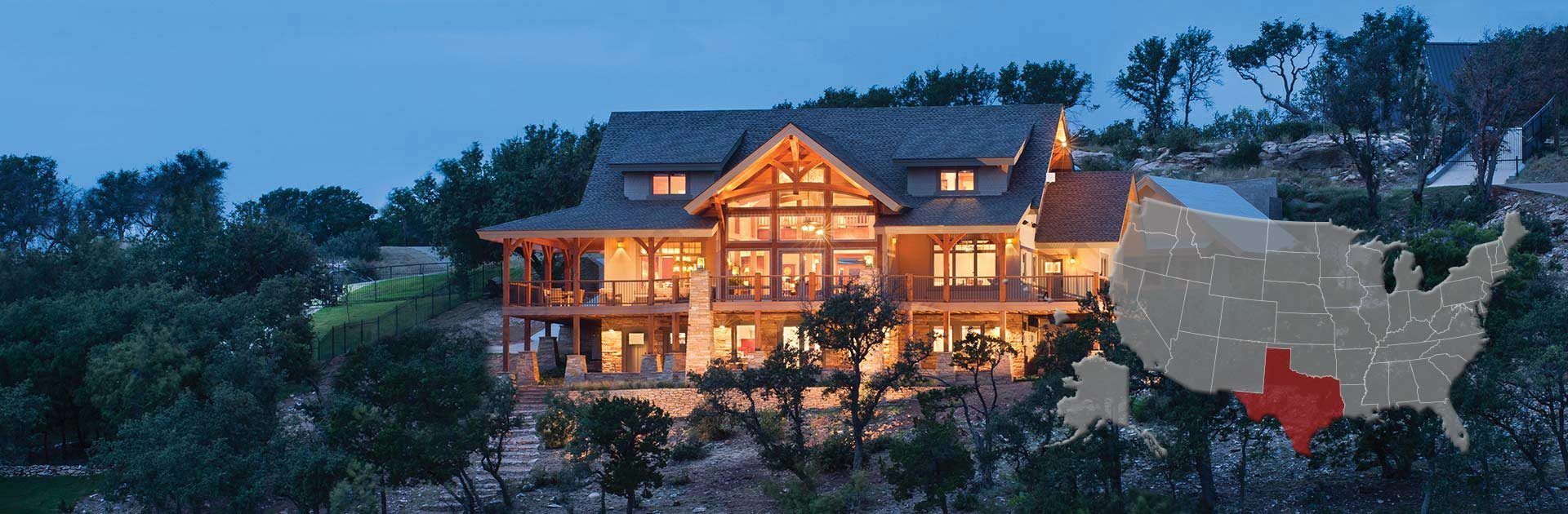 Texas Log & Timber Homes