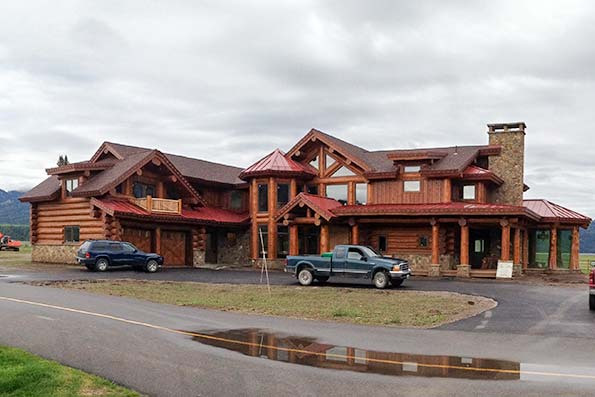 Wyoming Log And Timber Frame Homes By Precisioncraft