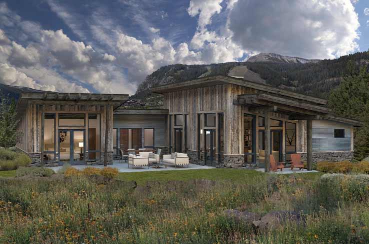 timber frame cabin floor plan