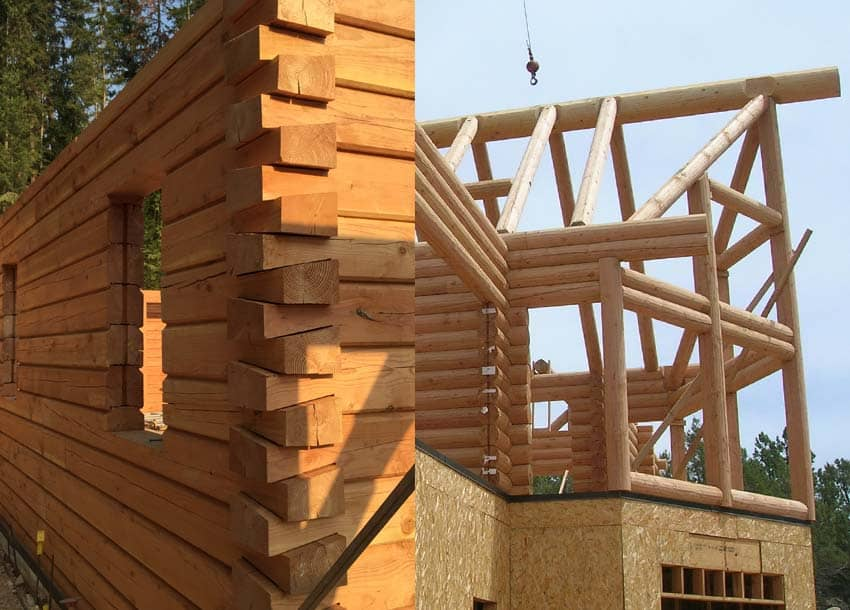 Milled Log Home Characteristics