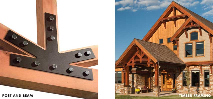 timber frame vs post and beam