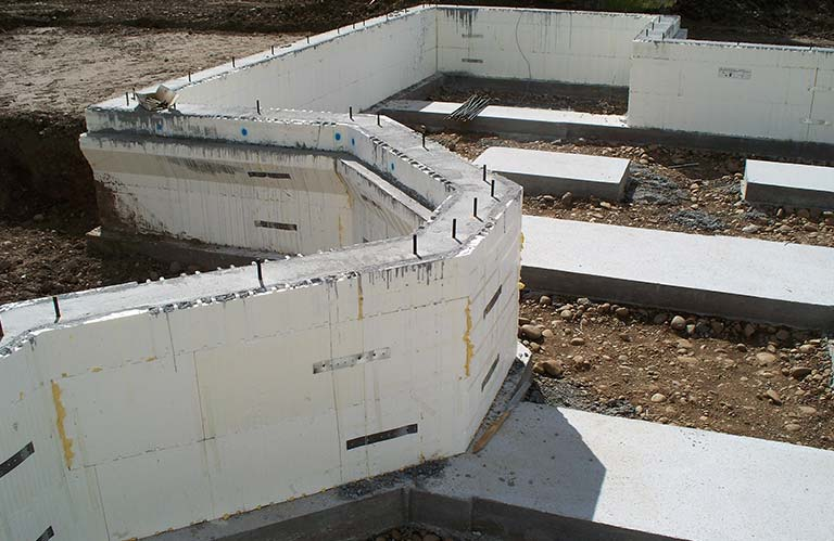 icf curved wall