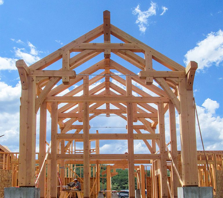 Timber Framing Truss System