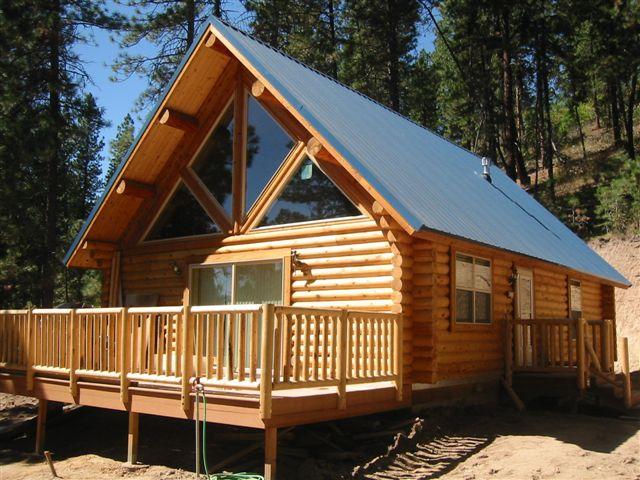 Kit Log Cabin Home