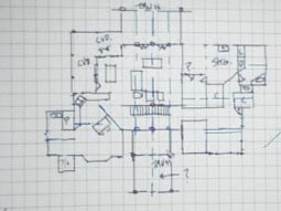 Home Plan Sketch