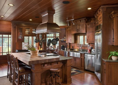 Selecting cabinets to reflect your style - framed cabinets