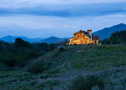 Mountain Style Home in Sun Valley