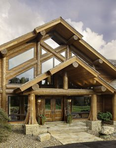 Post and Beam Entry