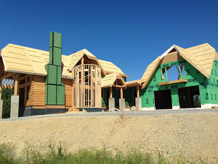 Sips and mountain style homes an energy efficient for Sip home builders