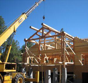 log home install