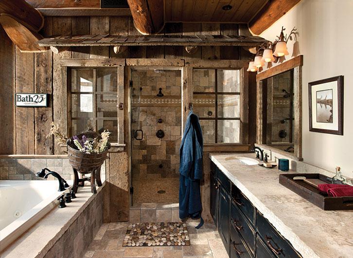 Mountain-Style Bath Design