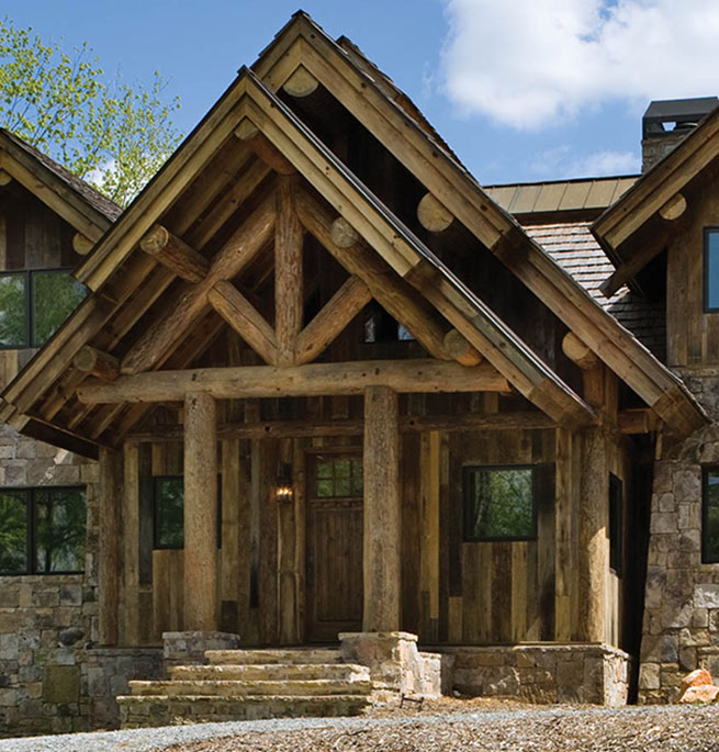 Log Post And Beam Homes Blog