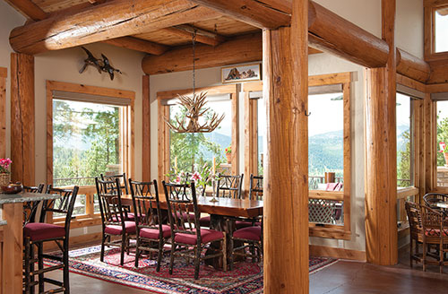Interior Post and Beam style