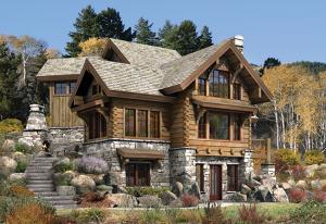 luxury home rendering targhee