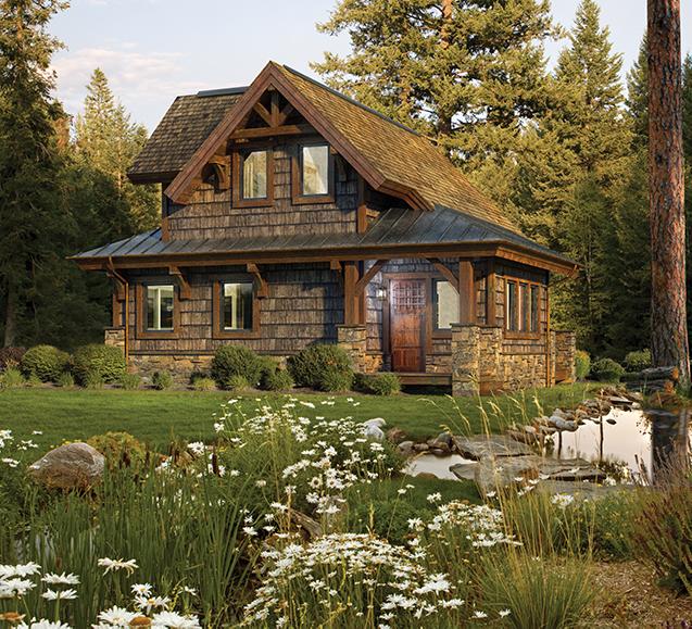 custom timber cabin