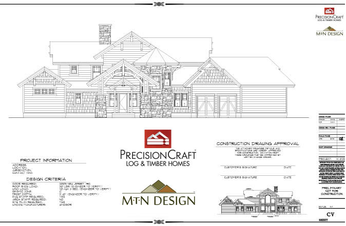 preconstruction phase plan set